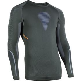 UYN Visyon UW LS Shirt Herre green/orange/blue